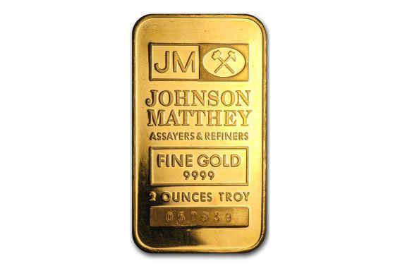 Johnson Matthey Gold Bars