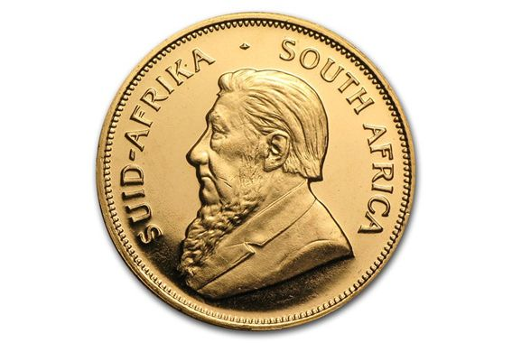 South African Krugerrand Gold Coin