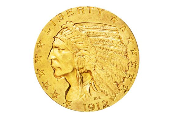Five Dollar Indian Head Gold Coin