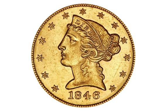 Five Dollar Liberty Head Gold Coin