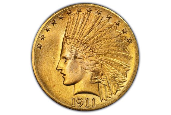 Ten Dollar Indian Head Gold Coin