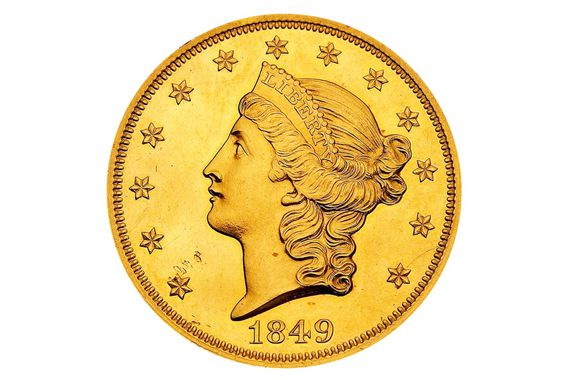 Twenty Dollar Liberty Head Gold Coin