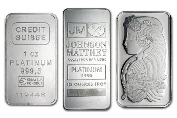 Platinum Bullion